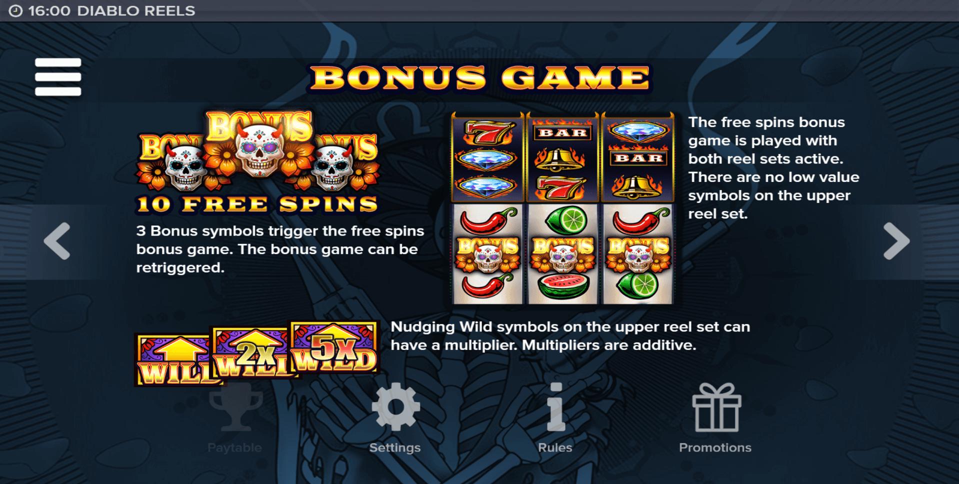 Diablo Reels Slot Machine