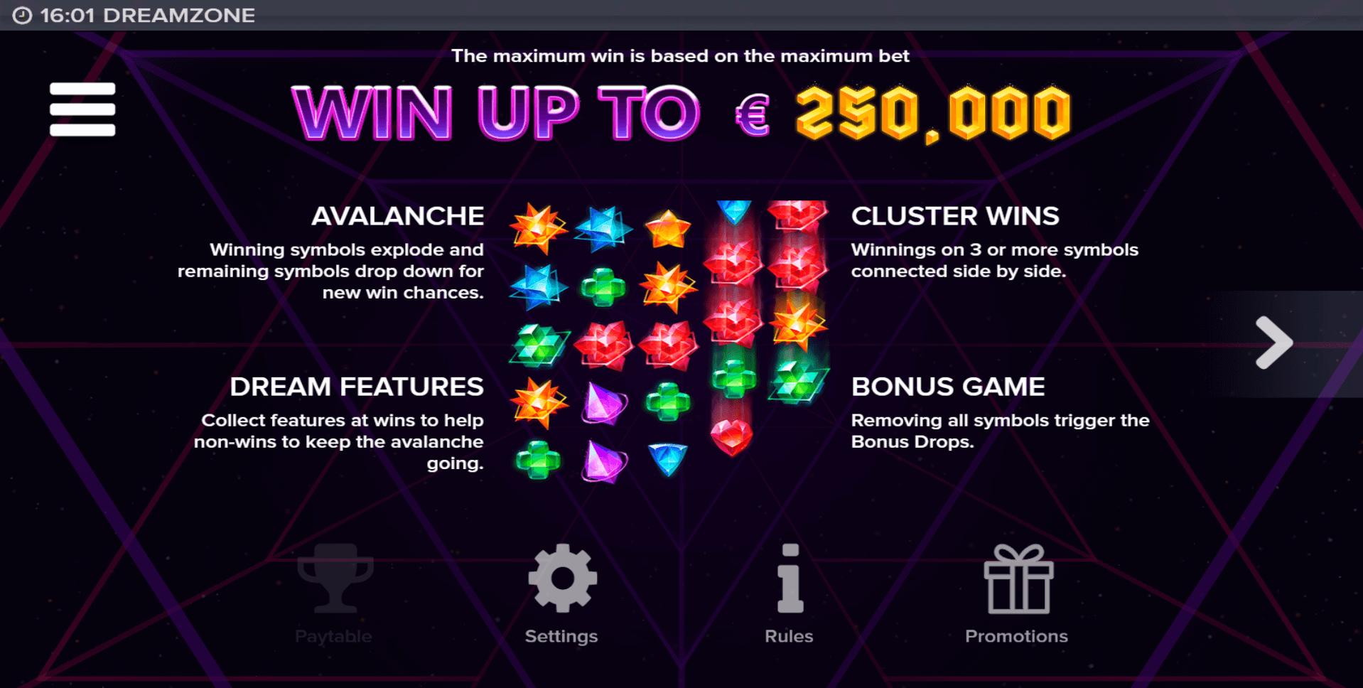 Dreamzone Slot Machine
