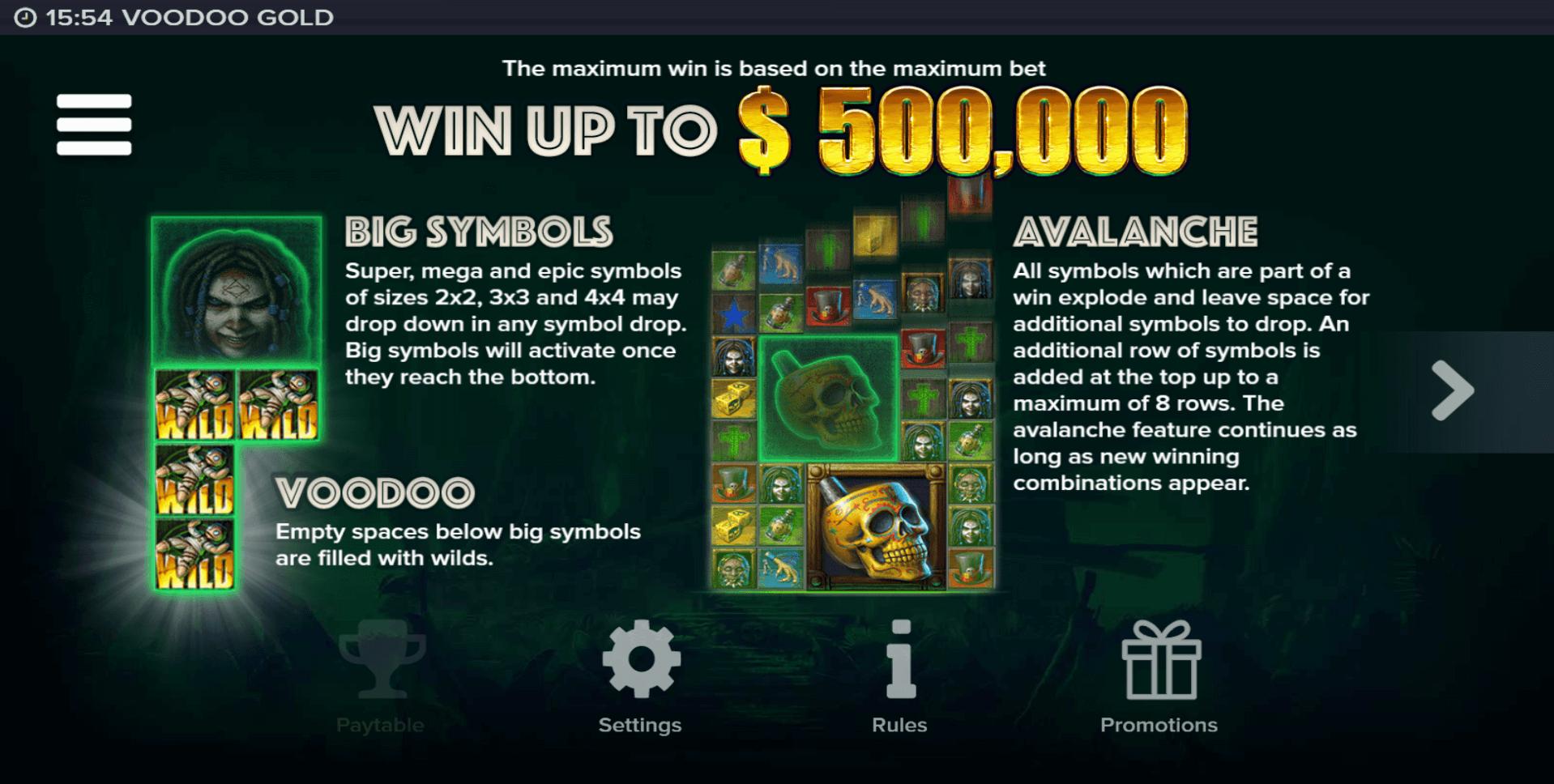 Voodoo Gold Slot Machine