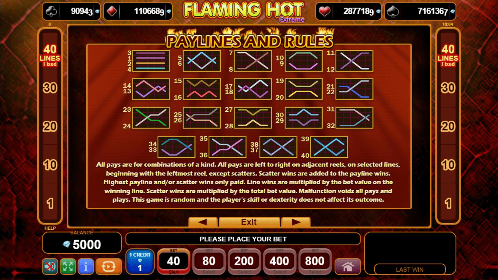 Extremely Hot Slot Machine
