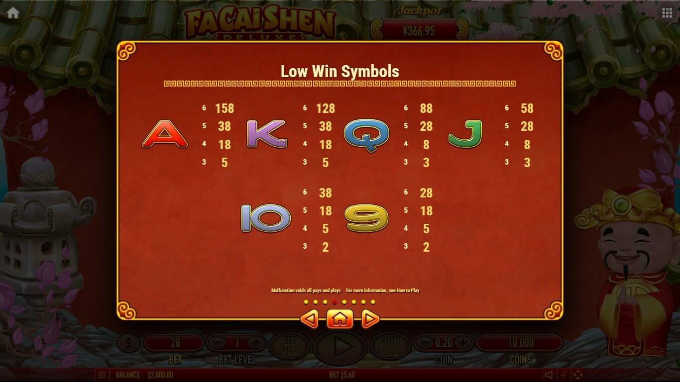 Fa Cai Shen Deluxe Slot Machine