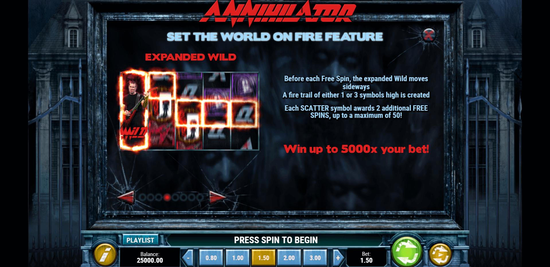 Annihilator Slot Machine