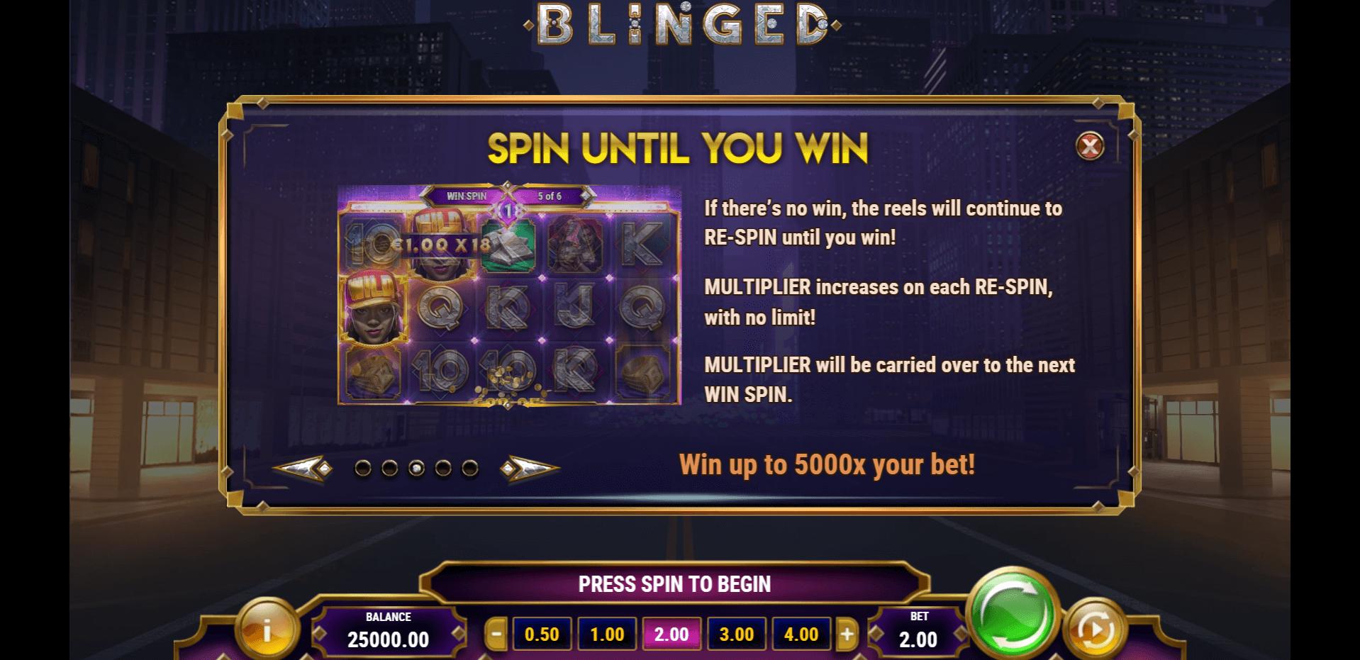 Blinged Slot Machine