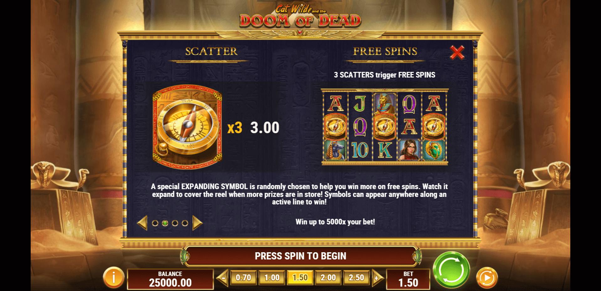 Cat Wilde and the Doom of Dead Slot Machine