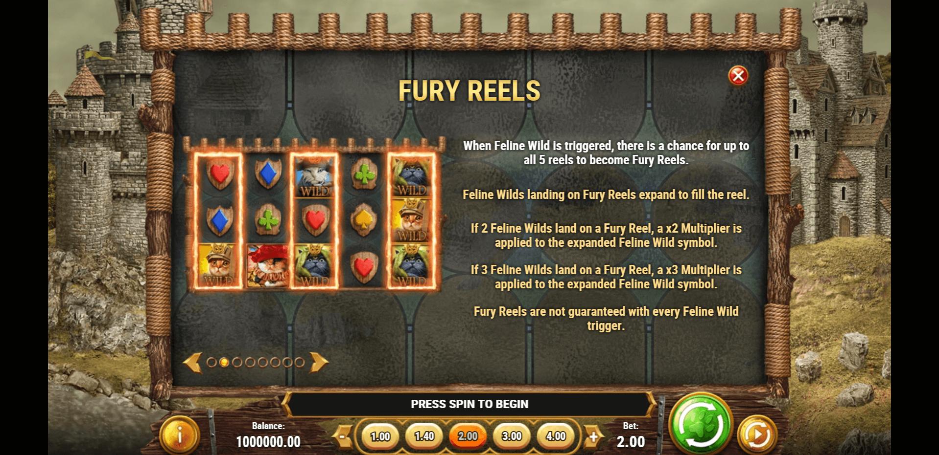 Feline Fury Slot Machine