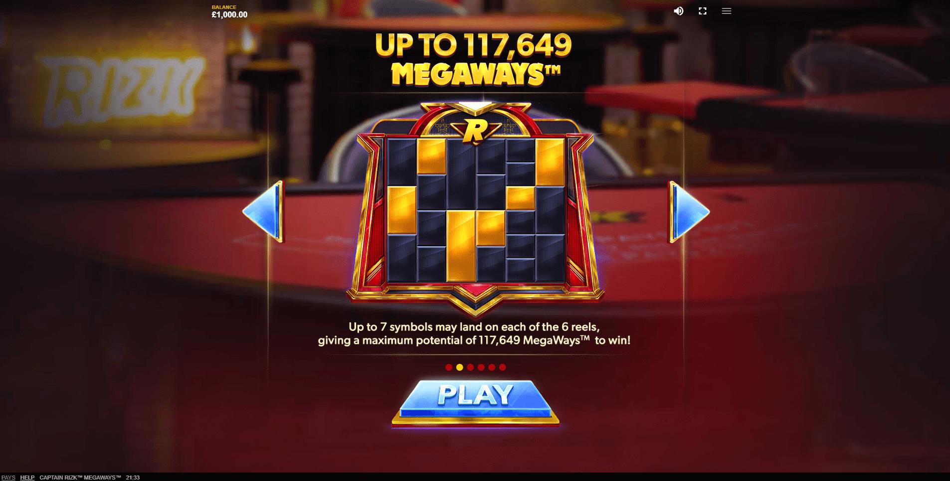 Captain Rizk Megaways Slot Machine
