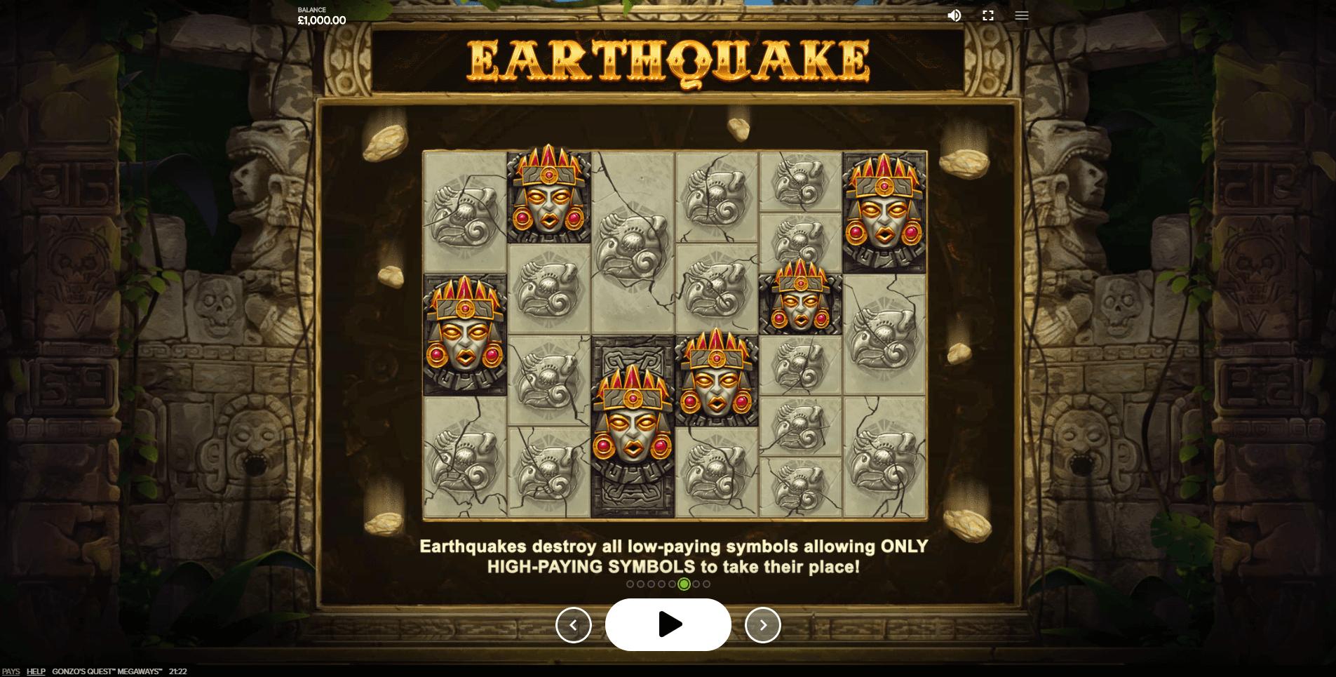 Gonzos Quest Megaways Slot Machine