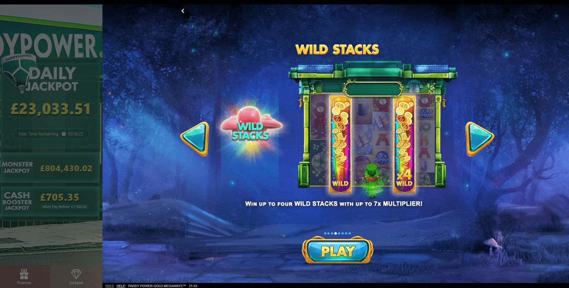 Paddy Power Gold Slot Machine