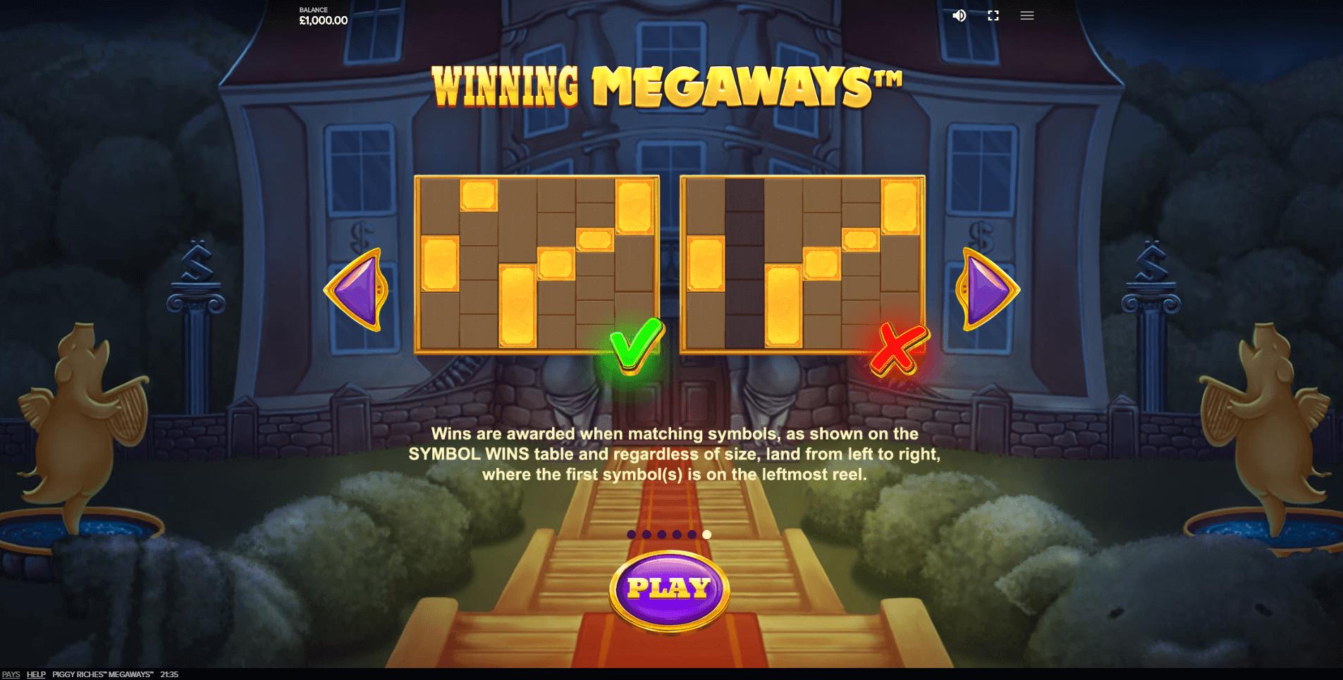 Piggy Riches Megaways Slot Machine