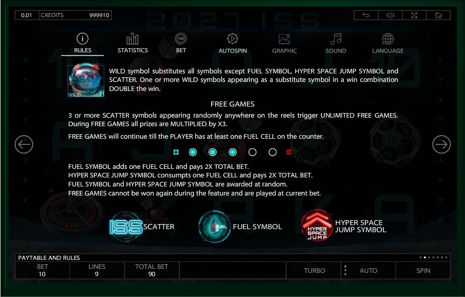 2027 iss slot machine detail image 5