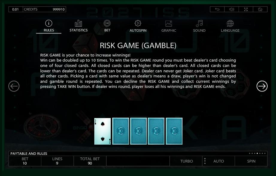 2027 iss slot machine detail image 3