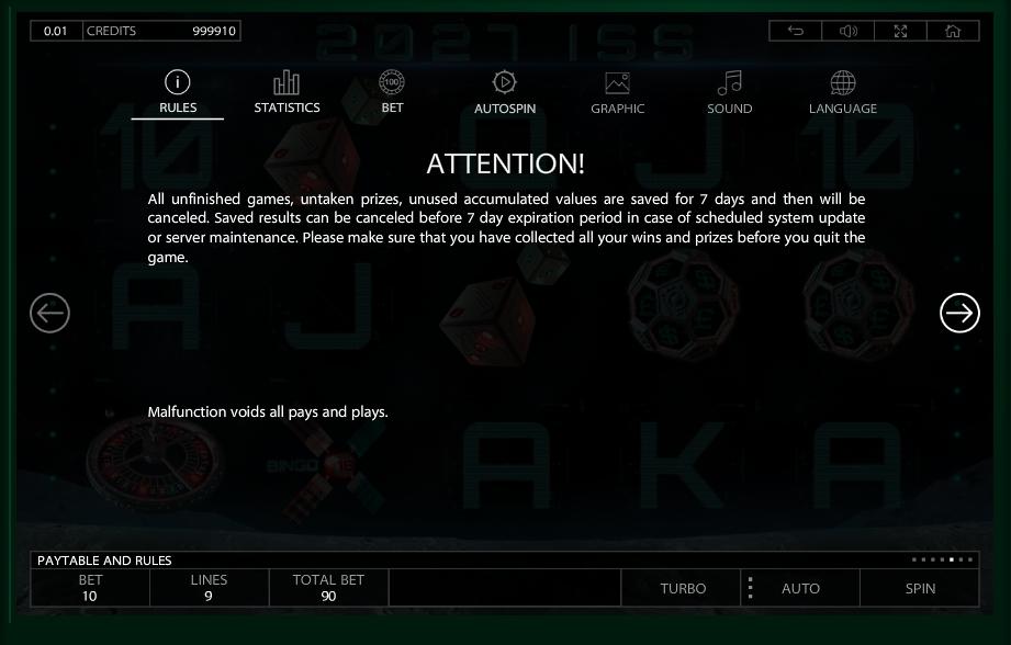 2027 iss slot machine detail image 2