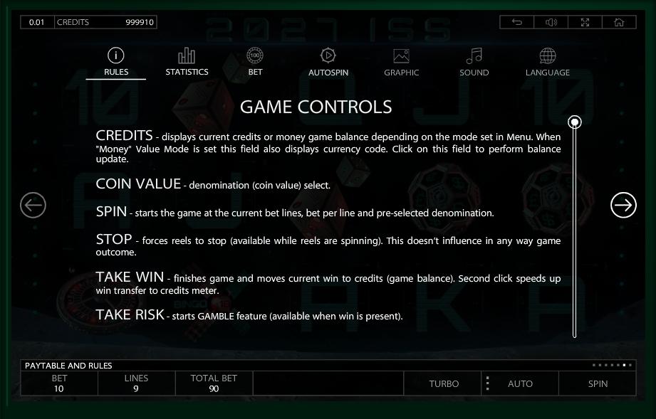 2027 iss slot machine detail image 1
