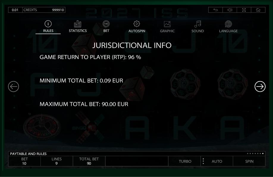 2027 iss slot machine detail image 0
