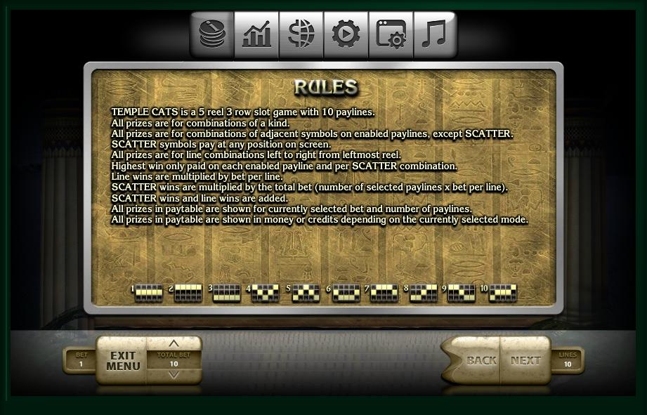 Spiele Temple Cats - Video Slots Online