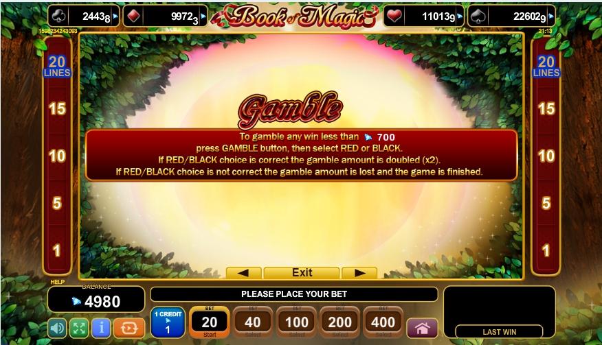 book of magic slot machine detail image 2