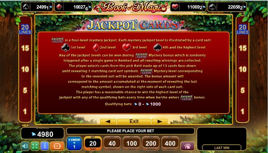book of magic slot machine detail image 1