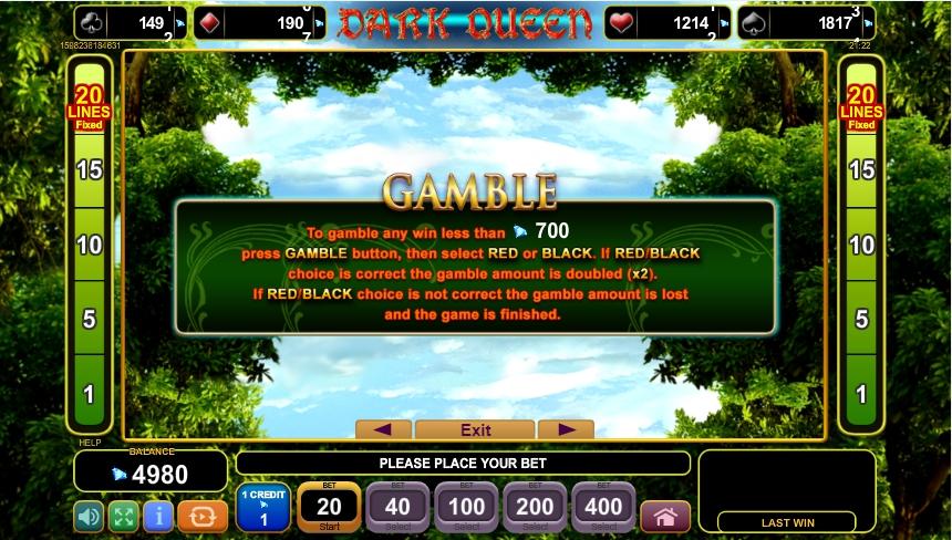 dark queen slot machine detail image 2