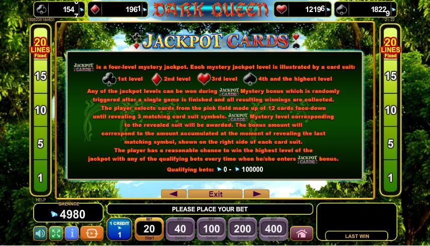 dark queen slot machine detail image 1
