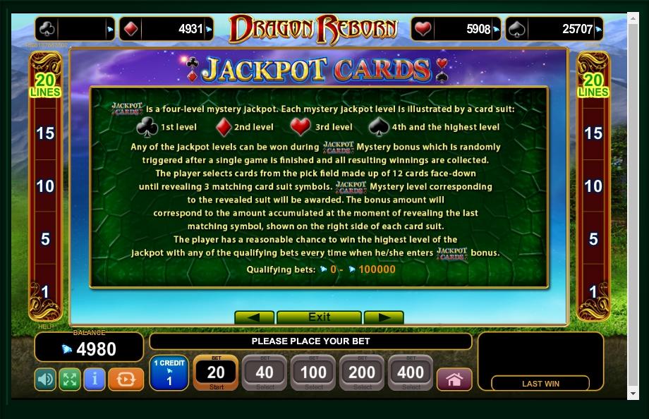Dragon Reborn Slot Machine