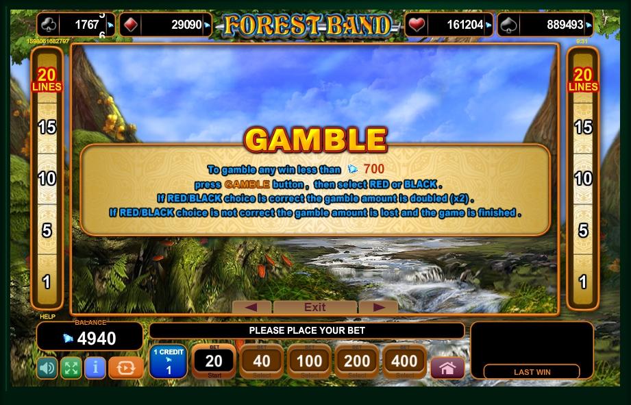 Forest Band Slot Machine