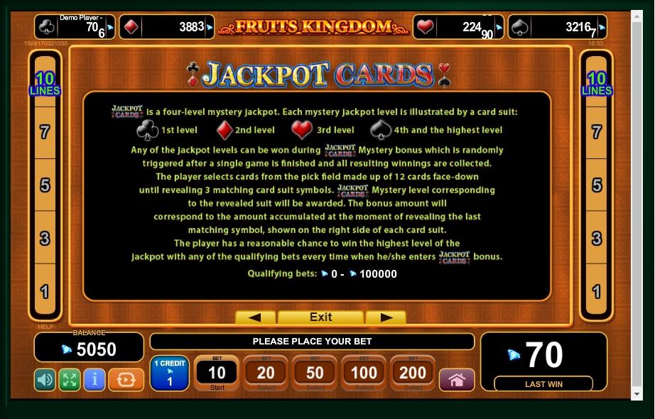 fruits kingdom slot machine detail image 1