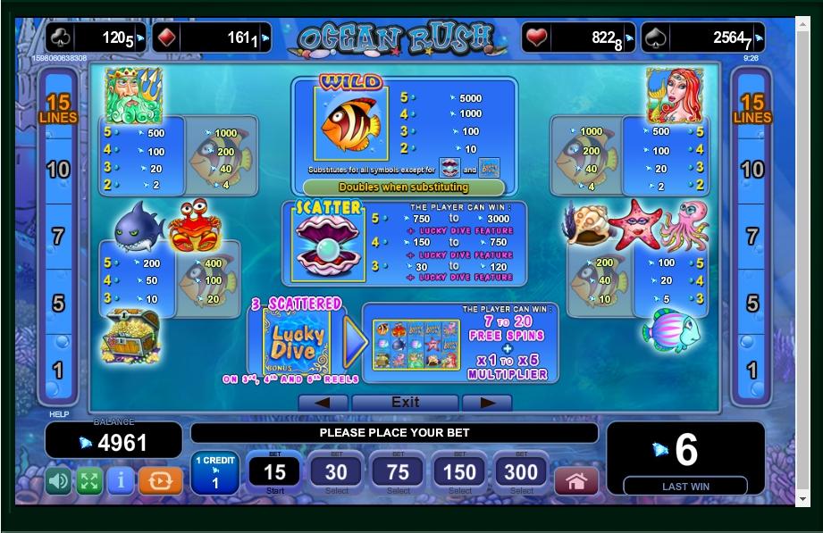 Ocean Rush Online Play