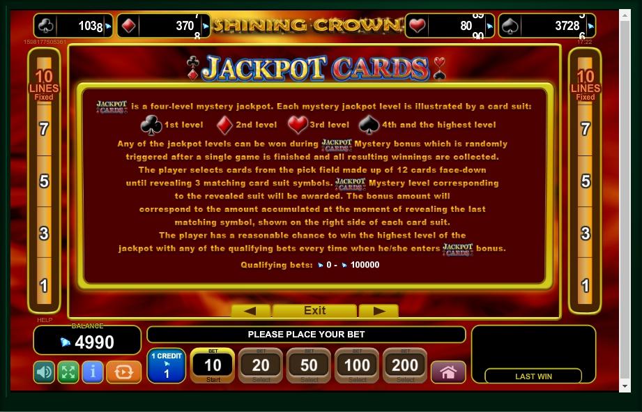 Shining Crown Slot Free
