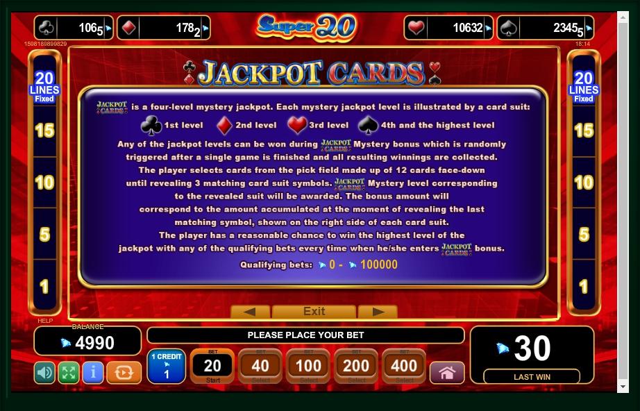 20 Super Dice Slot Machine ᗎ Play Online Amp Free