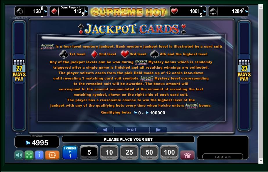 supreme hot slot machine detail image 1