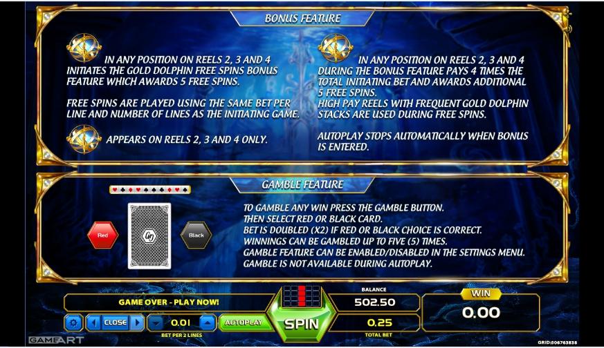 atlantis world slot machine detail image 1
