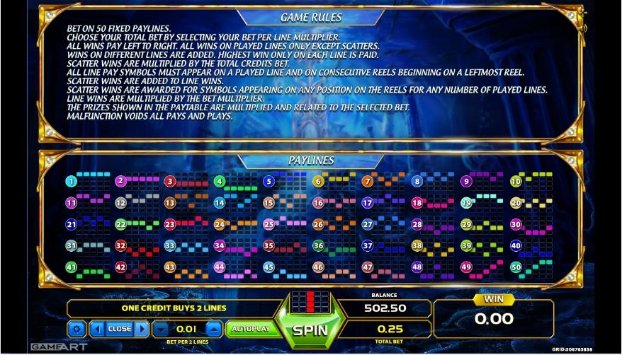 atlantis world slot machine detail image 0