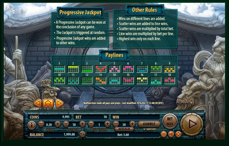 12 zodiacs slot machine detail image 0
