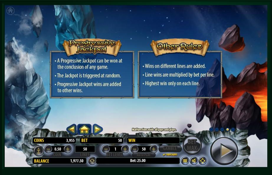 arcane elements slot machine detail image 1