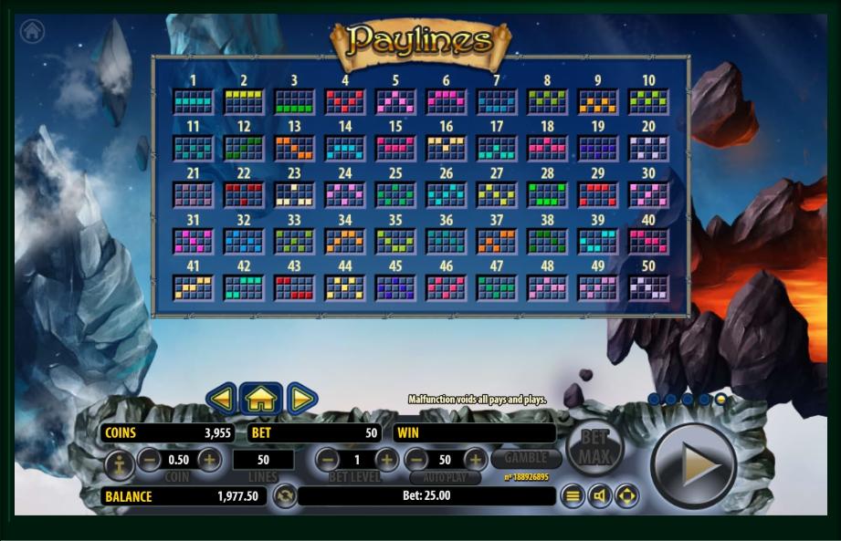 arcane elements slot machine detail image 0