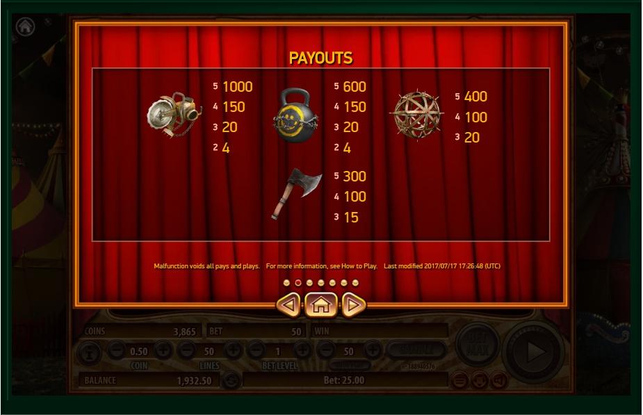 Habanero Gaming Circus Theme Slot Jugglenuat