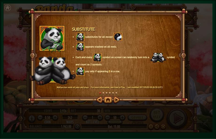 panda panda slot machine detail image 5