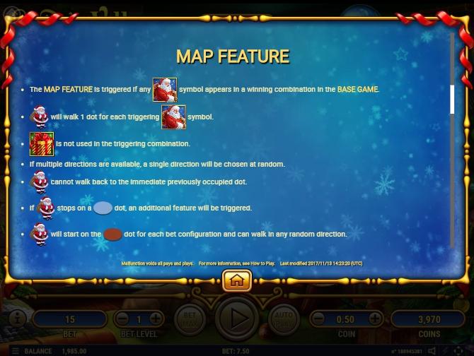 santa's village slot machine detail image 5