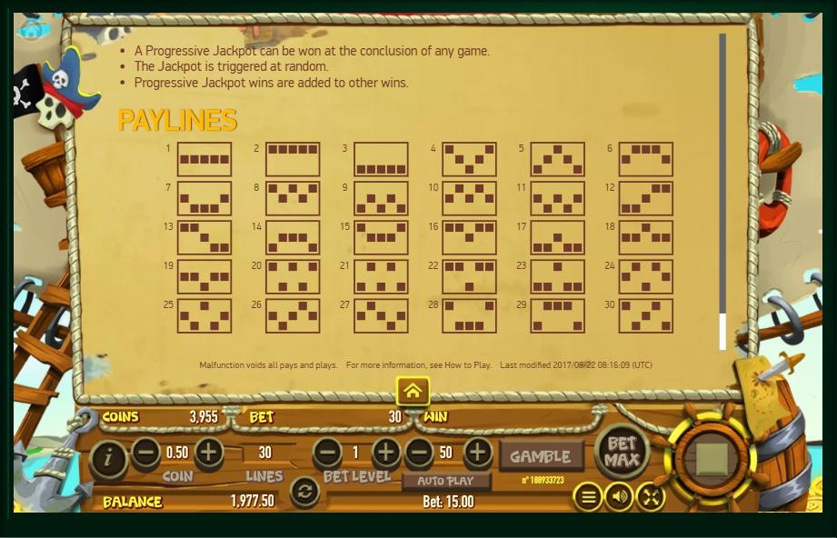 Scruffy Scallywags Slot Machine