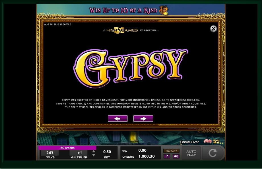 Gypsy Slot Machine