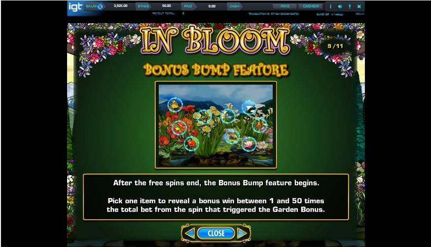 in bloom slot machine detail image 0