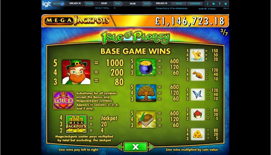 isle o' plenty slot machine detail image 4