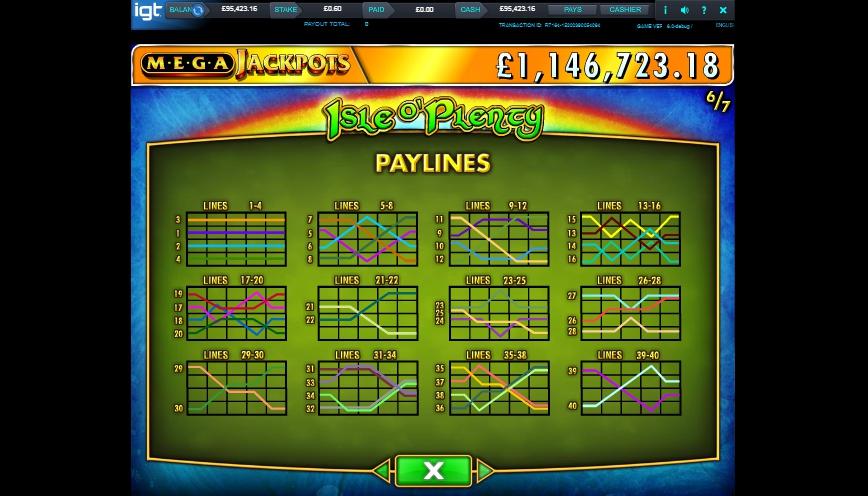 isle o' plenty slot machine detail image 1