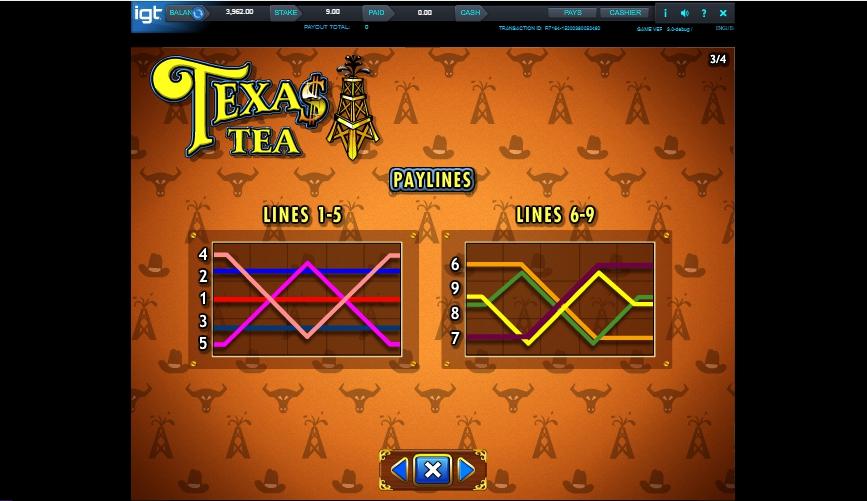 texas tea slot machine detail image 1
