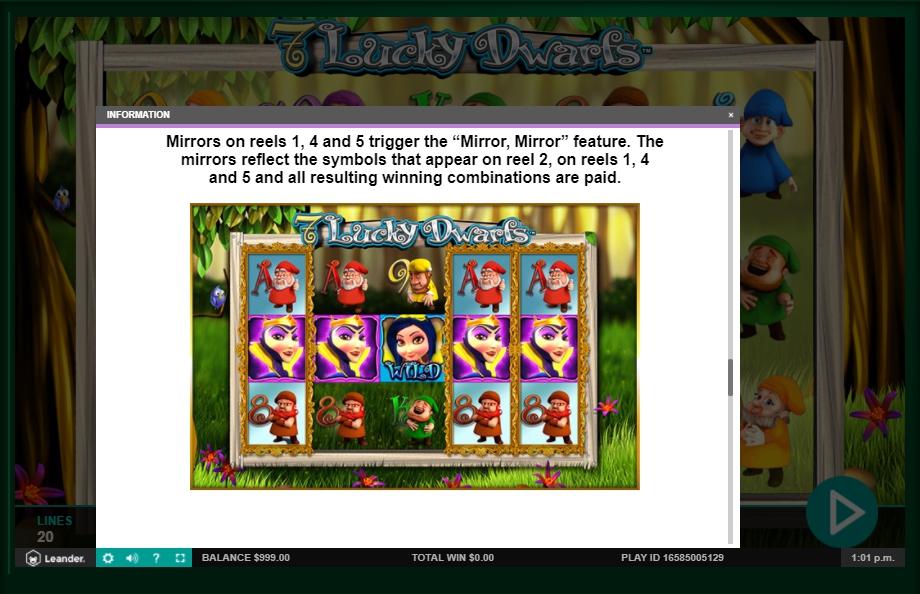 7 lucky dwarfs slot machine detail image 2