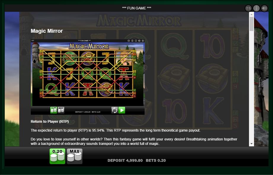 magic mirror slot slot machine detail image 7