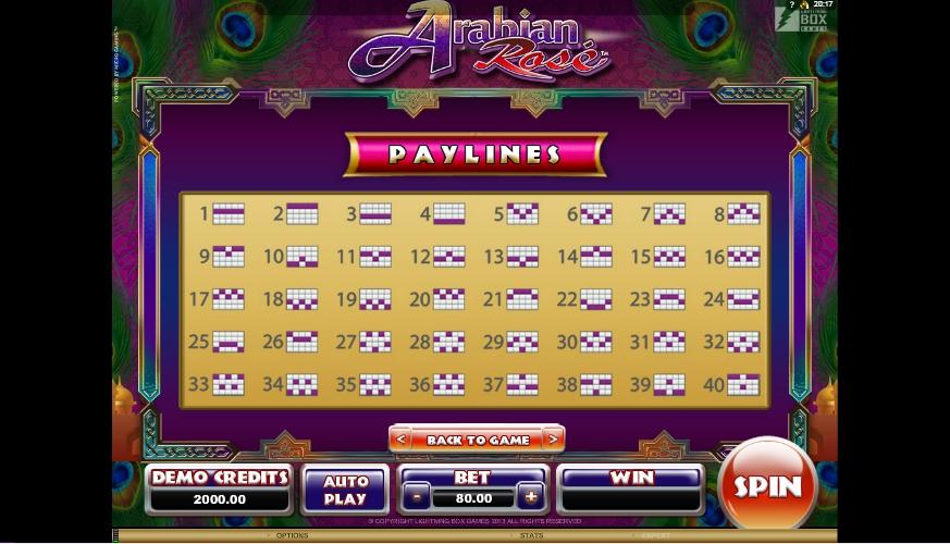 Serial era arabian rose microgaming slot game online omania]