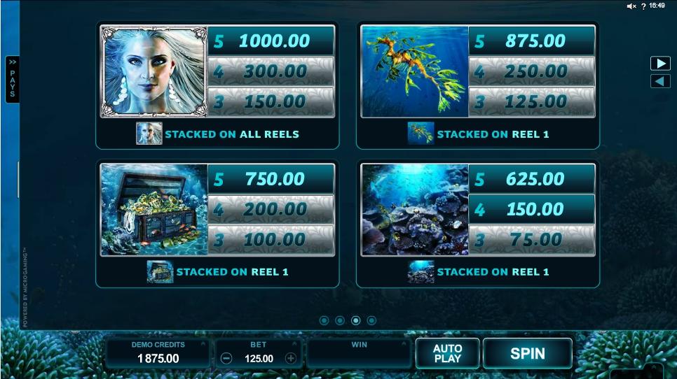 ariana slot machine detail image 1