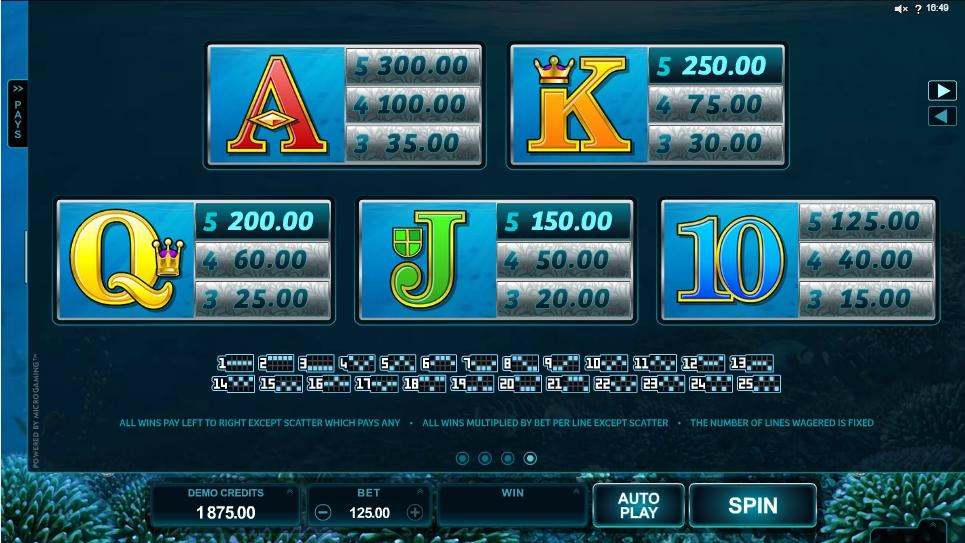 ariana slot machine detail image 0