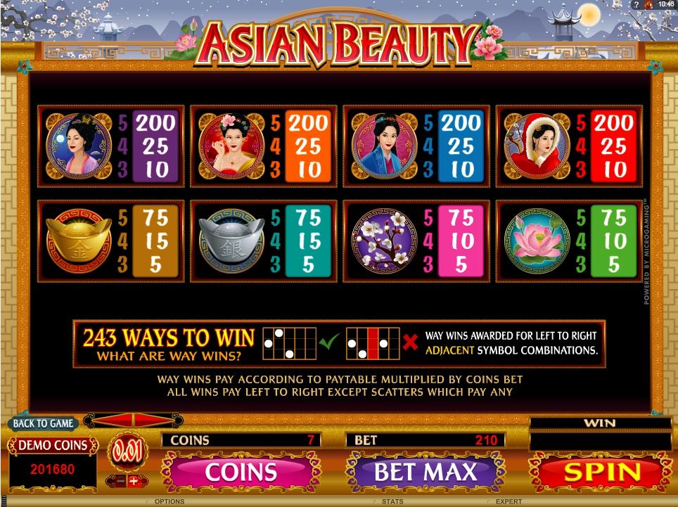 Asian beauty microgaming slot game Ermenek